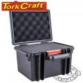 HARD CASE 260X230X185MM OD WITH FOAM BLACK WATER & DUST PROOF (221614)