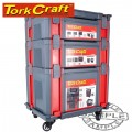 TOOL STORAGE STATION 5PC ON CASTORS TORK CRAFT