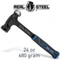 HAMMER BALL PEIN 700G 24OZ ULTRA STEEL HANDLE REAL STEEL
