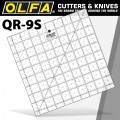 QUILT RULER 9' X 9' SQUARE WITH GRID