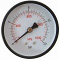 PRESS. GAUGE 63MM REAR FIT 1/4'0-16BAR 0-1600KPA