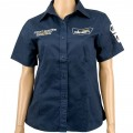 ALPEN SPRINT MAST LADIES NAVY COTTON BLUE 2X-LARGE