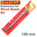 EXTENSION 150MM FOR SPADE BITS