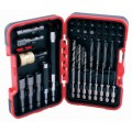 COMBINATION 49PC DRILL& BIT SET X3 NUT X2 EXT X2 ADAP X33 BITS X8 DRIL