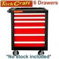 TORK CRAFT 6 DRAWER ROLLER CABINET ON CASTORS EMPTY
