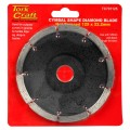 DIAMOND BLADE CYMBAL SHAPE 125X22.22MM