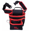TOOL POUCH NYLON WITH BELT 5 POCKET + LOOPS