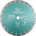 DIAMOND BLADE 300 X 25.4MM GREEN / NEW CONCRETE HOT PRESSED SEGMENTED