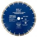 DIAMOND BLADE 300 X 25.4MM GREEN / NEW CONCRETE LASER WELDED SEGMENTED