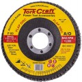 FLAP DISC 115MM 15 DEG.ANGLE 60GRIT