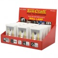 LIGHT SWITCH DISPLAY BOX 12PCE LED 200LM USE 4XAAA BAT TORK CRAFT