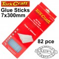GLUE STICK 07 X 300MM 82PC 1KG HOT MELT GEN. PURPOSE EVA 18000CPS