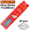GLUE STICK 11 X 300MM 35PC 1KG HOT MELT GEN. PURPOSE EVA 18000CPS