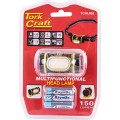 HEAD LIGHT LED 150 LUMENS USES 3 X AAA BATTERIES TORK CRAFT