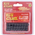 LETTER PUNCH SET 6MM (A-Z) BLACK FINISH
