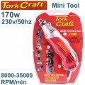 MINI TOOL 230V 170W ROTARY VARIABLE SPEED 8000 - 32500 RPM