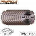 DIAMOND BLADE SEGMENTED 115MM PINNACLE BRAND X10 PACK