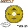 DIAMOND BLADE TURBO WAVE 115MM X 22.22 PINNACLE